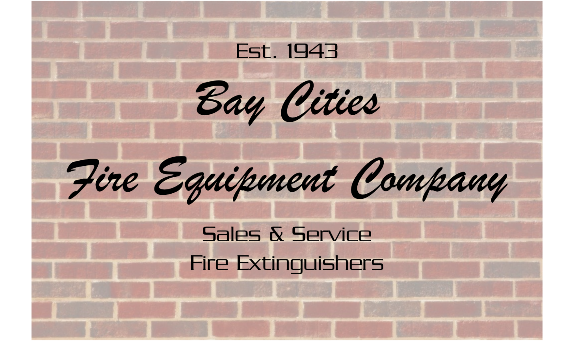 Bay Cities Fire Equipment Co.